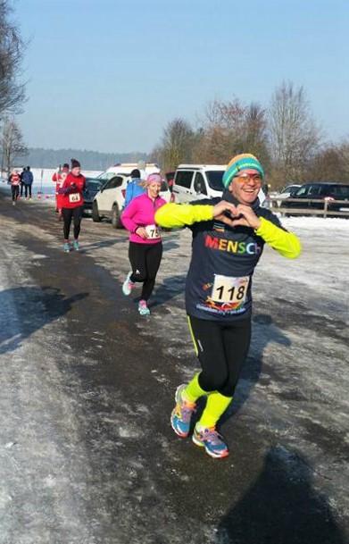 Sepp Böhnel - Winterlauf Challenge Steinberger See 2017