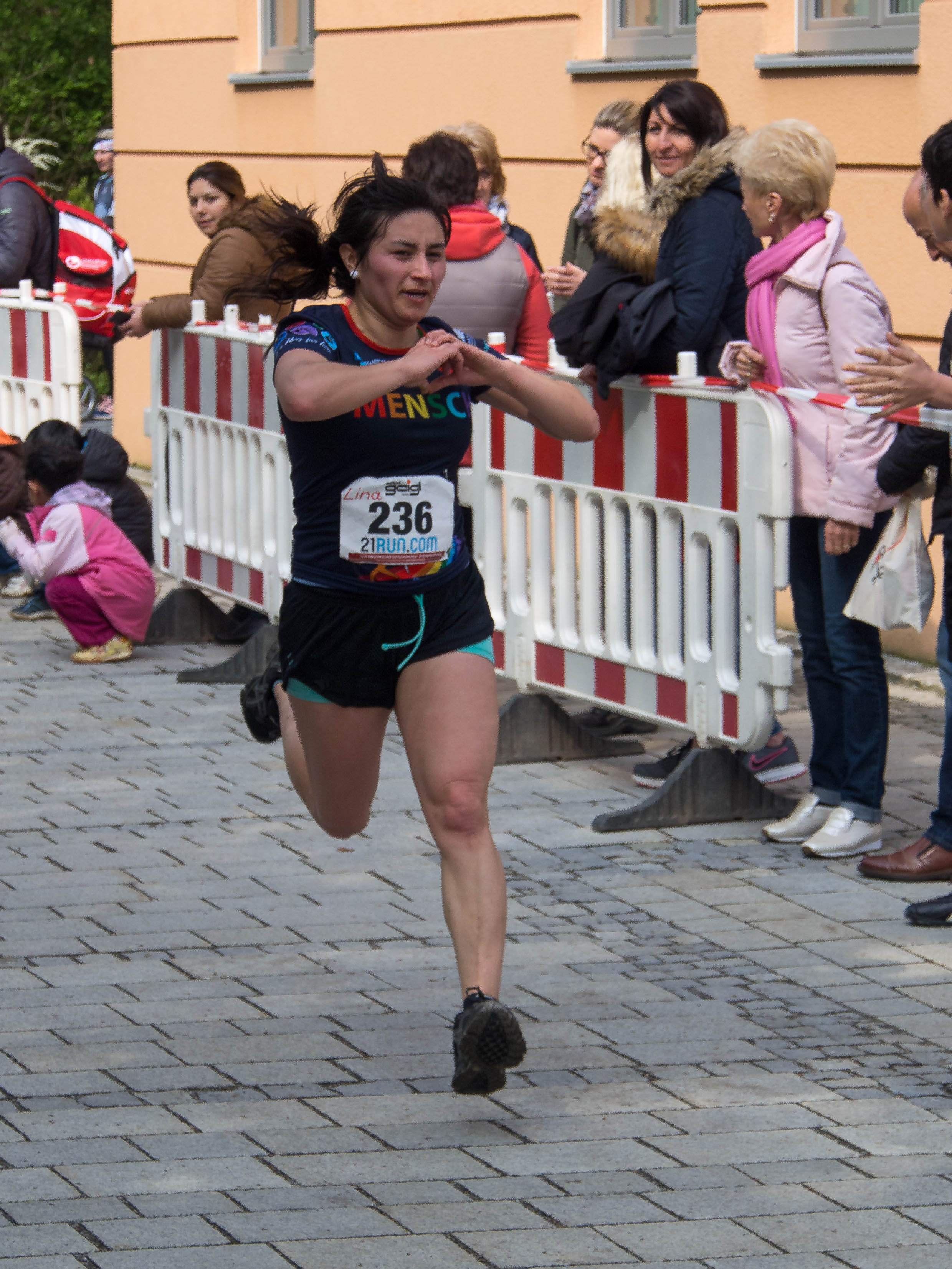 Lina Paola Peña Carrero Naabtallauf 2017