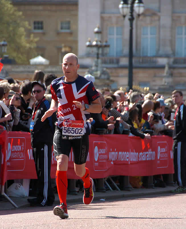 Markus Rajzer - London Marathon