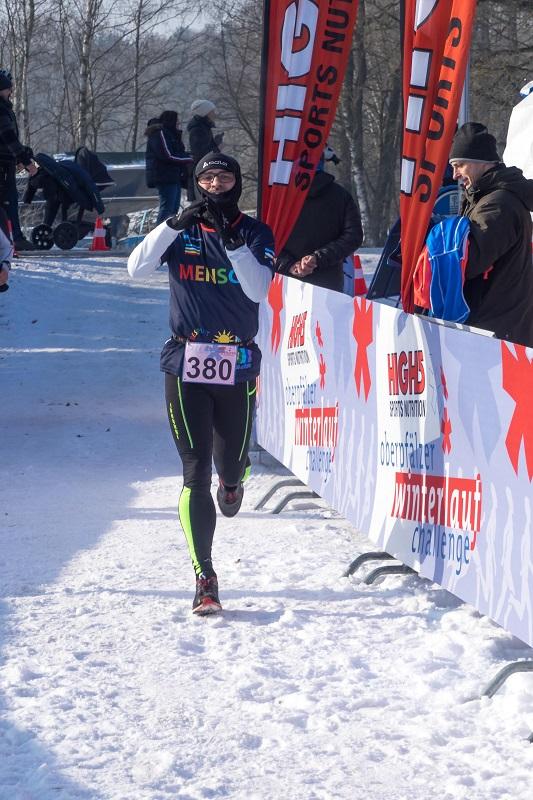Peter Habermeier - Winterlauf Challenge Steinberger See 2017