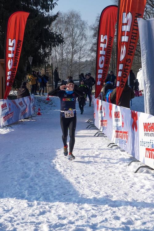 Markus Rajzer - Winterlauf Challenge Steinberger See 2017