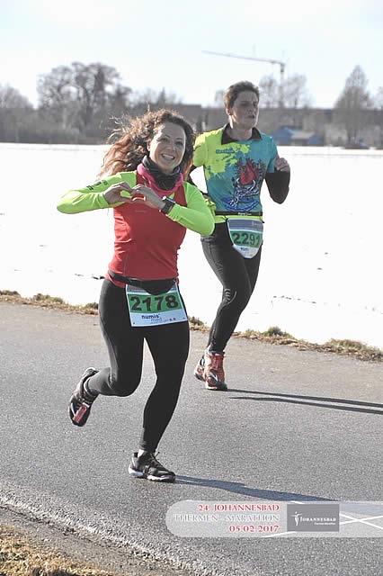 Susanne Apfel - Bad Füssing Halbmarathon 2017