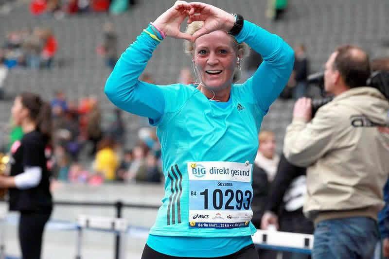 Susanne Lange - Berlin läuft