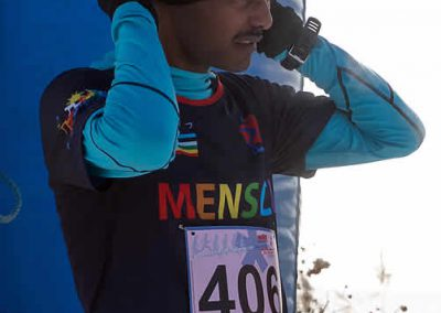 Winterlauf-Challenge Steinberger See 2017 - Addisu