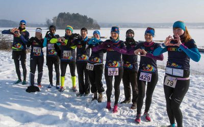 Winterlauf-Challenge – Steinberger See mit Herz