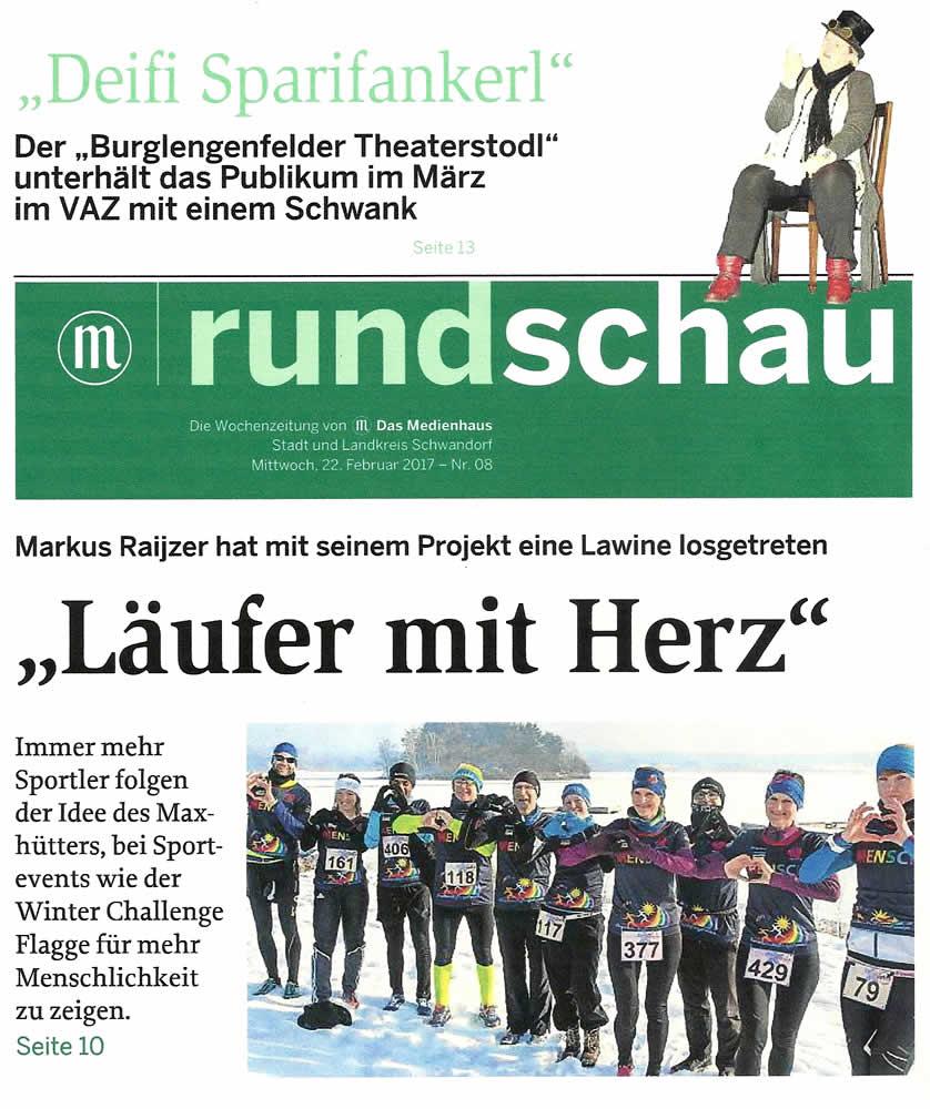 Regensburg Rundschau, Mittwoch 22.02.2017 - www.mittelbayerische.de