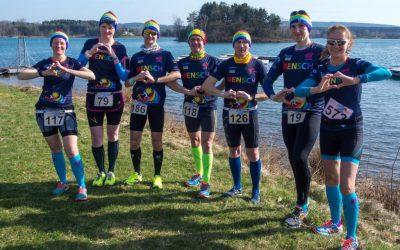 Winterlauf-Challenge 3. Lauf – Steinberger See mit Herz