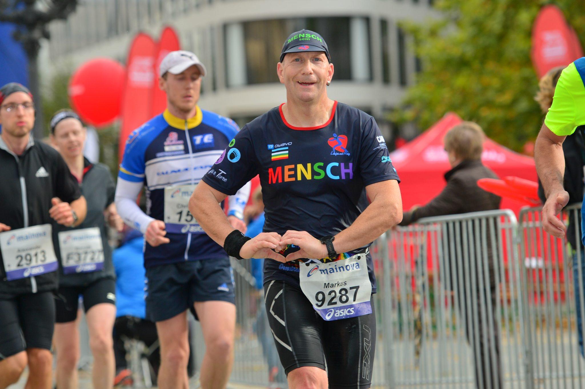 Markus Rajzer - Frankfurt Marathon