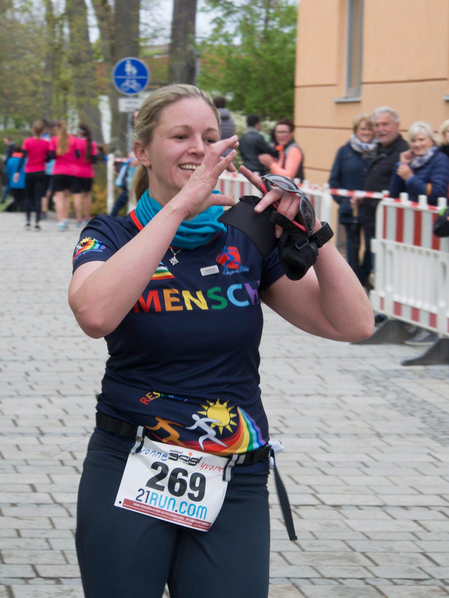 Yvonne Wibmer - Naabtallauf 2017