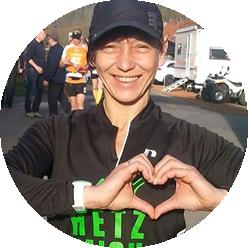 Läufer mit Herz