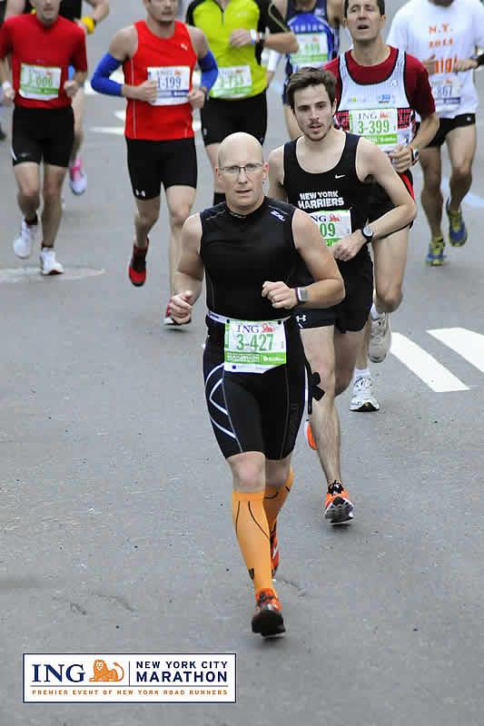 Markus Rajzer - New York Marathon 2011
