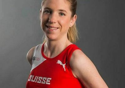Martina Strähl aus der Schweiz, immer wieder gern bei uns zu Gast zum Laufen