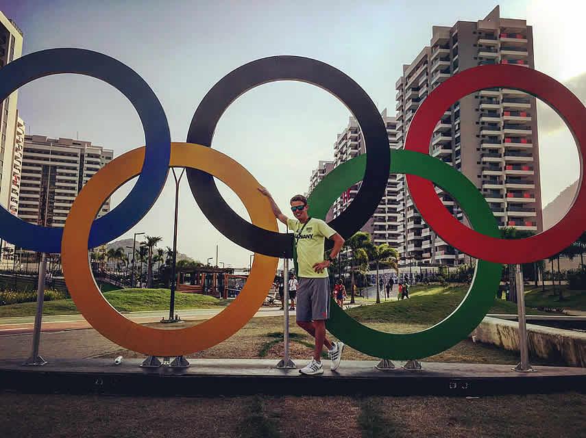 Philipp Pflieger in Rio