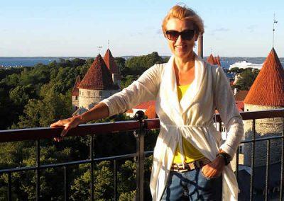 Ruth Renner aus Estland - wohnt schon lange in Deutschland