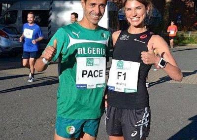 Mourad Bekakcha aus Algerien, toller Läufer, toller Mensch