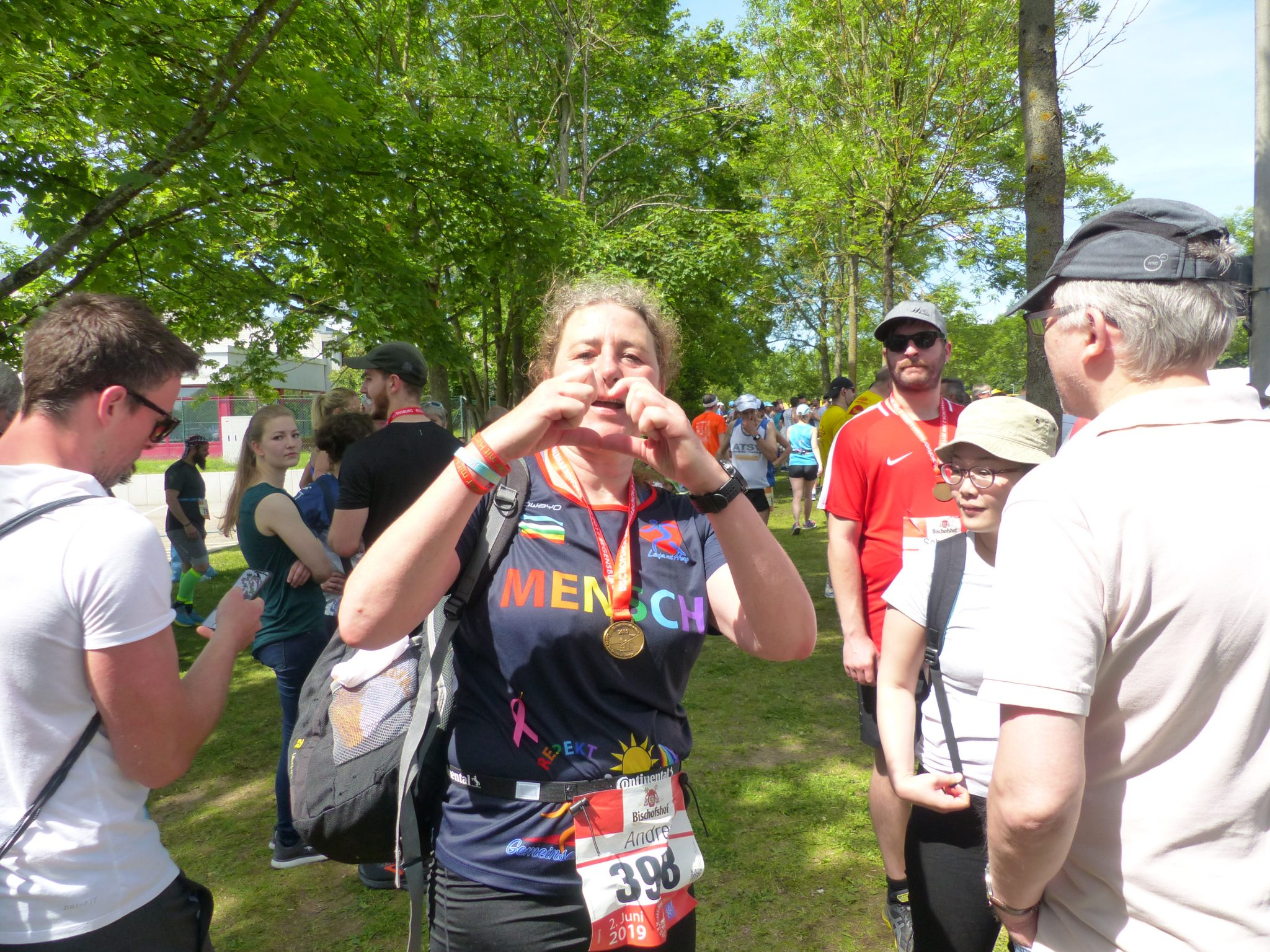 Andrea Schosser - Regensburg Marathon 2019